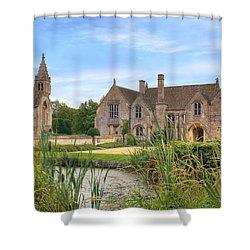 Great Chalfield Manor Shower Curtain by Joana Kruse