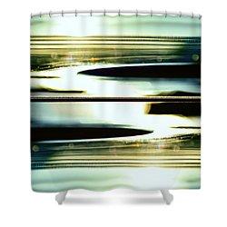 Guitar Galaxy Shower Curtain by Laura Fasulo