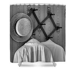 Home Shower Curtain by Dan Sproul