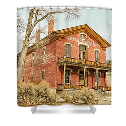 Hotel Meade Shower Curtain by Sue Smith
