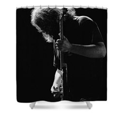 Jerry Sillow Shower Curtain by Ben Upham