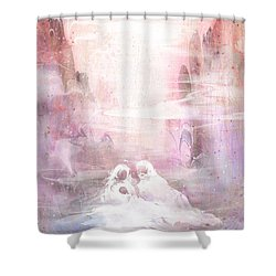 Light Of The World Shower Curtain by Rachel Christine Nowicki