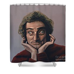Marty Feldman Shower Curtain by Paul Meijering