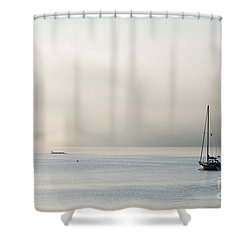 Morning Mist Shower Curtain by Mike  Dawson