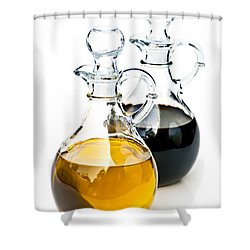 Oil And Vinegar Shower Curtain by Elena Elisseeva