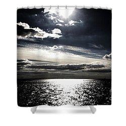 Peaceful Evening Shower Curtain by Four Hands Art