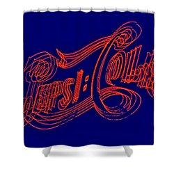 Pepsi Cola Shower Curtain by Susan Candelario