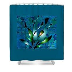 Planted Beauty Shower Curtain by Iris Gelbart