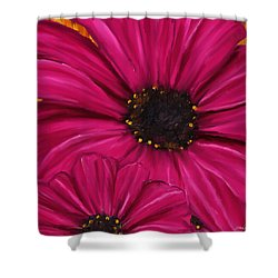 Purple Beauty Shower Curtain by Lourry Legarde
