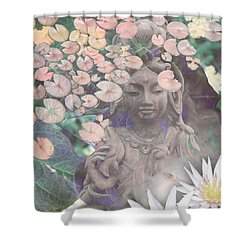 Reflections Shower Curtain by Christopher Beikmann