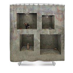 Regarding Desire Shower Curtain by Cynthia Decker