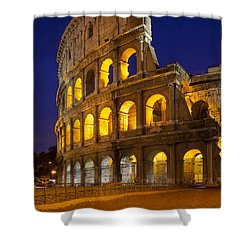 Roman Coliseum Shower Curtain by Brian Jannsen