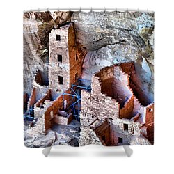Ruins Shower Curtain by Dan Sproul