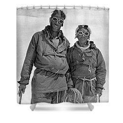 Sir Edmund Hillary Shower Curtain by Granger