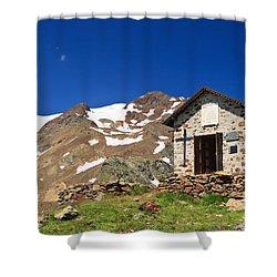Small Chapel  Shower Curtain by Antonio Scarpi