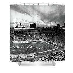 Soldier Field Football, Chicago Shower Curtain by Panoramic Images