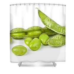Soy Beans Shower Curtain by Elena Elisseeva