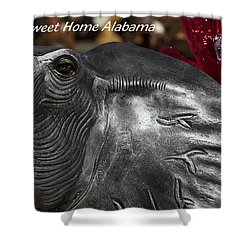 Sweet Home Alabama Shower Curtain by Kathy Clark