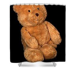 Teddy Bear  Shower Curtain by Toppart Sweden