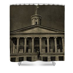 Tennessee Capitol Building Shower Curtain by Dan Sproul
