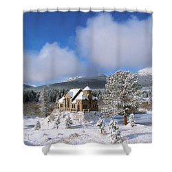 The Chapel On The Rock I Shower Curtain by Eric Glaser