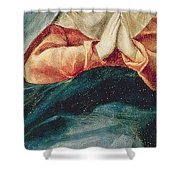 The Immaculate Conception  Shower Curtain by El Greco Domenico Theotocopuli