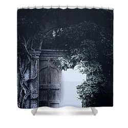 The Light Shower Curtain by Joana Kruse