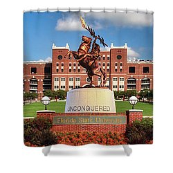 Unconquered Shower Curtain by John Douglas