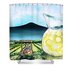 When Life Gives You Lemons Shower Curtain by Shana Rowe Jackson