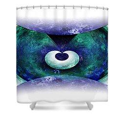 Zen Shower Curtain by Christopher Gaston