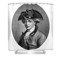 John Andre (1751-1780) Shower Curtain by Granger
