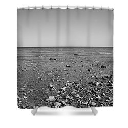 Lake Huron Shower Curtain by Frank Romeo