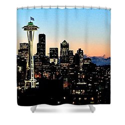 12th Man Sunrise Shower Curtain by Benjamin Yeager