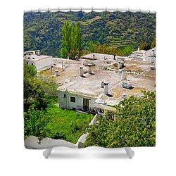 Alpujarras In Granada Shower Curtain by Guido Montanes Castillo