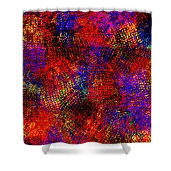 1432 Abstract Thought Shower Curtain by Chowdary V Arikatla