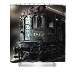 1565 Class B Irm Shower Curtain by Thomas Woolworth