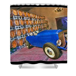 1927 Ford Roadster Shower Curtain by Blake Richards
