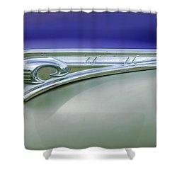 1947 Dodge Gi Joe Shower Curtain by Jill Reger