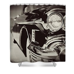 1950s Cadillac No. 1 Shower Curtain by Lisa Russo