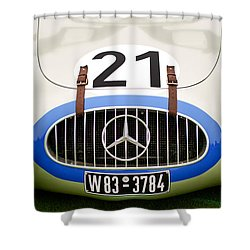 1952 Mercedes-benz W194 Coupe Shower Curtain by Jill Reger