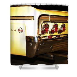 1962 Chevrolet Impala Ss Shower Curtain by Cheryl Young
