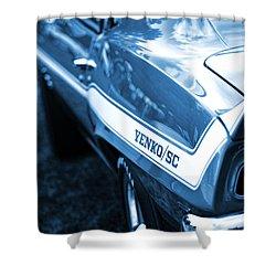 1969 Chevrolet Camaro Yenko Sc 427 Shower Curtain by Gordon Dean II