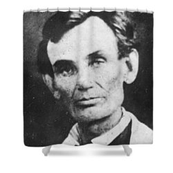 Abraham Lincoln Shower Curtain by Anonymous