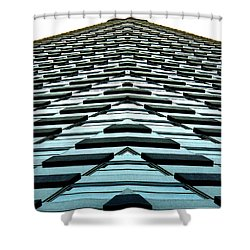 Abstract Buildings 1 Shower Curtain by J D Owen