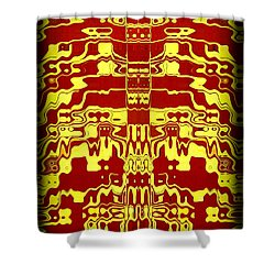 Abstract Series 1 Shower Curtain by J D Owen