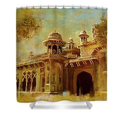 Aitchison College Shower Curtain by Catf