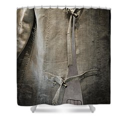 Bedlam Shower Curtain by Amy Weiss