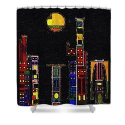 Chinatown Shower Curtain by RC deWinter
