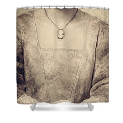 Coffee Time Shower Curtain by Joana Kruse