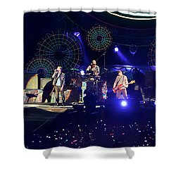 Coldplay - Sydney 2012 Shower Curtain by Chris Cousins